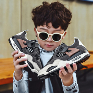 Kids Boys Sports Shoes Breathable Summer Matte Color Matching Children Running Shoes Children Shoes New Fashiom Sneakers