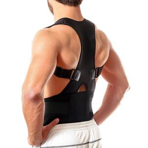 Nuovo adulti Humpback Corrector corretta Torna Spine Support postura regolabile spalla Brace Belt Strap Outdoor Fitness Equipment