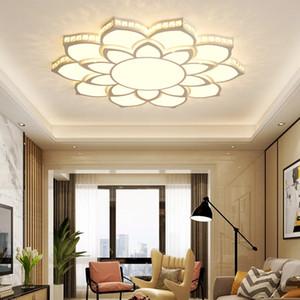 Хрустальная современная светодиодная люстра для гостиной спальня кабинет светильники акриловые стильные светодиодные люстры Бесплатная доставка