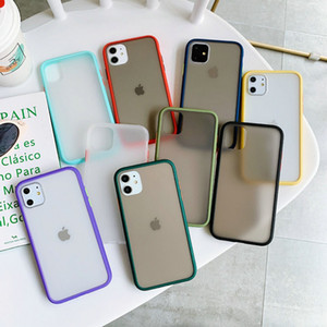 Transparent Cases For iPhone 11 Pro 11 Pro Max XR XS Max 7 8 6 6S Plus Shockproof Matte Soft Silicone Bumper Cover