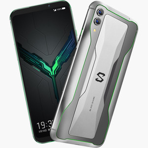 Оригинал Xiaomi Black Shark 2 4G LTE сотового телефона Gaming 12GB RAM 256GB ROM Snapdragon 855 окт ядра 6,39 дюйма 48MP Face ID Smart Mobile Phone