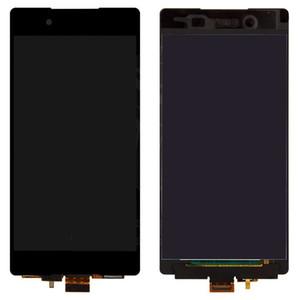 Sony Xperia Z3 + DS Z4 için dokunmatik ekran ile LCD E6533 E6553 LCD ekran ekran Sayısallaştırıcı Cam Panel Ön (dokunmatik ekran ile)
