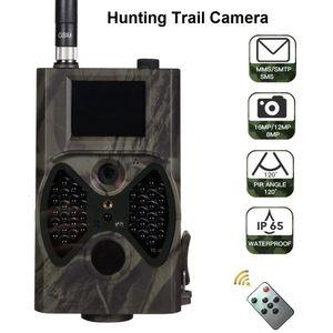 Hc300m 16MP Mms / электронная почта 1080p Wildlife камеры Ir Night Видео Охота Trail Camera Hc300m 100 градусов 65feet Ce Rohs Fcc Утверждение T190705