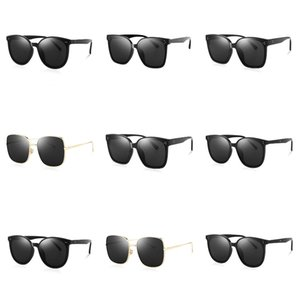 Zerosun Clip On Polarized Sunglasses Women 5 Lens With 3283T Frame Magnetic Sun Glasses For Woman Driving Myopia Anti Reflect#265