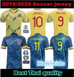 احدث الرجال + الاطفال 2020 JAMES كولومبيا بعيدا جيرسي لكرة القدم بطولة كأس امريكا الجنوبية كولومبيا قميص كرة القدم فالكاو Camiseta دي فوتبول مايلو