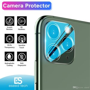 Camera Film Tempered Glass Full Cover for iPhone 11 Pro Max Samsung S20 Ultra Camera Lens Screen Protector with Retail Package