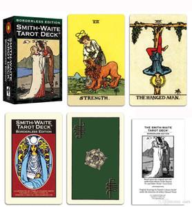 6 أنماط Tarots الساحرة رايدر سميث ويت الساحر التارو سطح السفينة مجلس بطاقات لعبة مع صندوق ملون النسخة الانجليزية