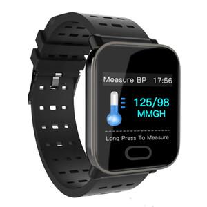 Chegada nova A6 Fitbit Esporte Banda Inteligente Pressão Arterial Monitor de Freqüência Cardíaca Pulseira Inteligente Rastreador Calorie IP67 À Prova D 'Água Pulseira relógio