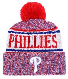Toptan kış Phillies Beanie P Örgü Şapka Spor Takımları beyzbol futbol basketbol Beanies kapaklar Kadınlar Erkekler kış sıcak şapka 00