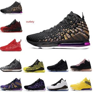 HOTSALE men basketball shoes 17 17s XVII BLACK WHITE Future RED CARPET Purple Yellow CURRENCY 2k mens trainers Sport Sneaker 7-12