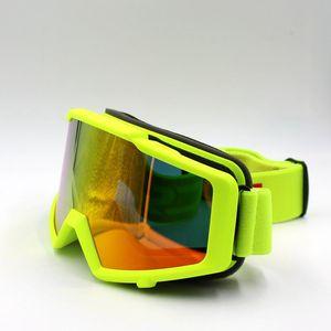 Новый Прибывают лыжные очки Солнцезащитных противотуманных снегоходов Skate очки для взрослых Snowboard Goggles зима снег лыжа очков