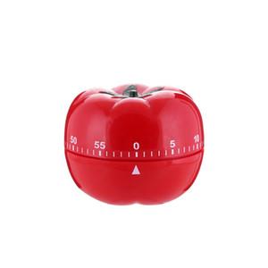 Mechanische Timer Kochen Timer ABS Tomatenform Timer für Home Kitchen 60 Minuten Alarm Countdown-Tool