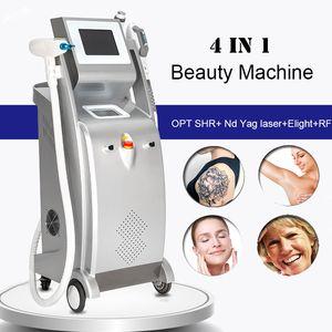 OPT SHR 헤어 리무버 ND YAG 레이저 안료 제거제 Elight IPL RF Photon 피부 처리 홈 피부 강화 레이저 기계