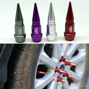 4pcs / lot Car Supplies Blox Lug puit tyle Framework Values Tyle Caps Tyre Stem Air Caps Cover case For Universal Car