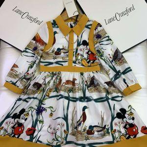 little girl flower wedding dress kids designer cheap clothes set wholesale 2020 autumn winter baby child fashion party outfits 110-160 cm