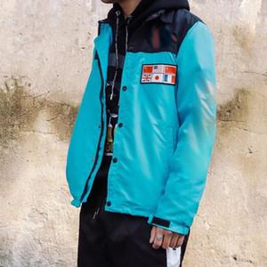 Designer con cappuccio Mens maglione del cappotto dei vestiti da jogging Mappa riflettenti Giacche mens progettista Jacke con cappuccio giacca a vento veste homme blouson