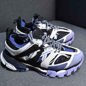 new xshfbcl Triple S Track Release 3.0 Tess S Clunky Sneaker Mens Gomma Maille Black Women Tripler Casual Shoes Hot Authentic Designer Shoes