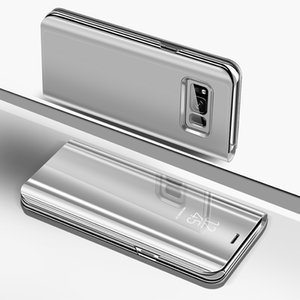 Smart Mirror Case pour Samsung flip Galaxy A50 A30 A10 A20 A40 A60 A70 A80 A90 A20E M20 M10 M30 S10 S8 S9 S7 S6 bord plus la couverture