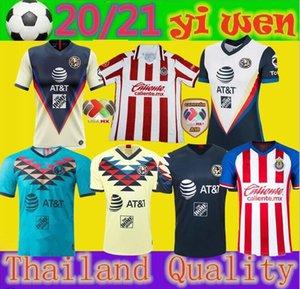 2019 2020 2021 LIGA MX Club America Futebol UNAM Guadalajara de Chivas 2020 21 kits de futebol méxico futebol Jersey camisas de futebol