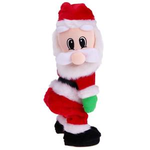 2020 Рождество Новый Подарок Танцы Electric Музыкальные игрушки Санта-Клауса Кукла тверкинг Петь Новогоднее украшение для дома