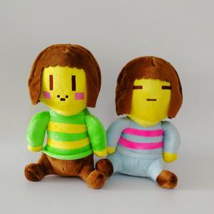 Новое прибытие Undertale Frisk Chara плюшевые мягкие игрушки куклы для детей подарок новый (2 шт. / лот / размер: 20 см)