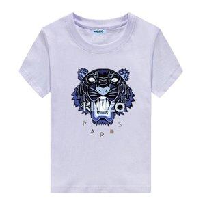 Brand designKENZO abbigliamento per bambini estate nuova T-shirt per bambini in cotone di fascia alta comfort scoppi modelli rotondi abbigliamento per bambini