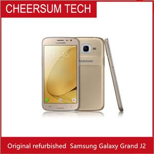 whoelsale Original-Refurbished Samsung Galaxy Groß J2 J200 J200F J210F 4G LTE mit 5.0inch Schirm 1.5G RAM frei shippping