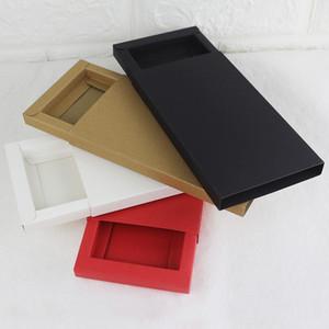 100pcs Emballage pour iPhone 11 11Pro MAX Phone Case Boîte d'emballage pour iPhone 11 6.1 Couverture arrière Bonbonnière cadeau