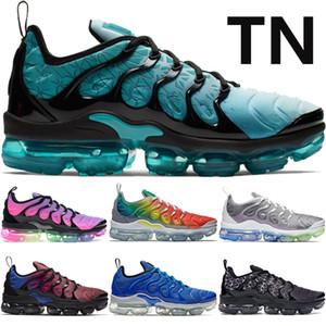 Inoltre Tn uomini donne scarpe da corsa spirito alzavola essere vero arcobaleno triple nero bianco scarpe limone mens TN progettista formatori di EUR 36-45