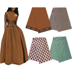 Coton batik Ankara impressions africaines tissu véritable cire hollandaise meilleure qualité mode bloc à coudre matériel pour robe de mariée 6 mètres beaucoup