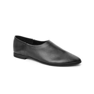 John May ck Femme Slip-On-Tu 4002-101 dentelle sans ck en cuir