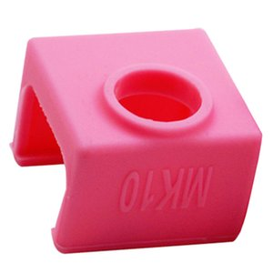 Imprimante 3D Partie Rose MK10 Chaussettes étui en silicone couverture en céramique lieu