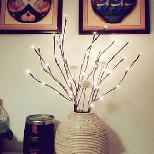 LED 버드 나무 분기 램프 꽃 등 20 전구 홈 크리스마스 파티 정원 장식 장식 크리스마스 트리 토퍼