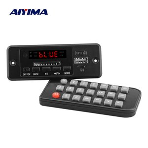AIYIMA Bluetooth 5.0 Receiver Music MP3 Decoder Board AUX USB SD Card FM Decoding With 2x3W Power Amplifiers Digital LED Display