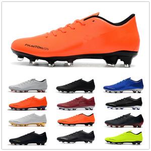 Nike Football Shoes 2019 nuevos zapatos de fútbol más baratas Phantom VSN FG hombres crampones De Botas de fútbol Chuteira Ronaldo Neymar hombres de la Copa Mundial de Fútbol Tacos