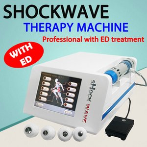 Protable Extracorporeal ShockWave Therapy for Erectile Dysfunction Demonstrated Reduce Body Pain and Sports Injury Acoustic Shock Wave