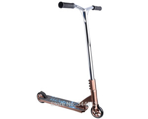 Free shipping professional extreme scooter bmx scooter with 100mm PU wheels, stunt high speed action