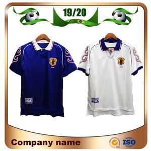 98/99 Retro versión Retro Japan Soccer Jersey Home # 8 Nakata # 11 Kazu # 10 Nanami # 9 Nakayama Soccer Shirt 1998 World Cup Football Uniforms