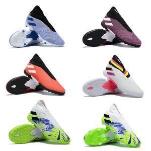 Gri IC Futbol Boots Orijinal Messi ACE 19.4 Purecontrol IC Kapalı Çocuk Futbol Ayakkabıları ACE 17+ Bayan Futbol Profilli