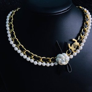 New necklace 2020 women fashion necklace accessories with box free shipping 062404