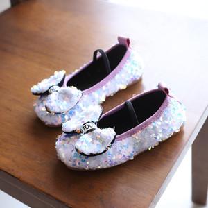 marca caliente otoño del resorte Nueva paño grueso y suave de la moda zapatos de cuero de zapatos de niño salvaje chica individual masculino de los zapatos británica guisantes