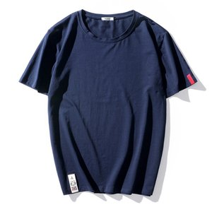 Top Quality Mens T-shirts Fashion 2020 Summer Short Sleeves Trending Tshirt Tees Plus Asian Size L-6XL 7XL 8XL 9XL T200528
