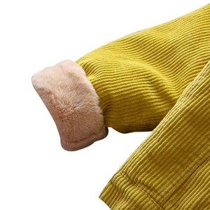 Kids Warm Velvet Coats Autumn Winter Baby Girls Jacket Boys Coat Jacket Children Girls Outerwear Fashion Girls Clothes