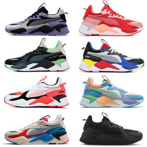 пумаRSх RS-х тренеров мужчины повседневная обувь тройной черный белый Reinvention игрушки красный взрыв синий атолл мужчин женщин дизайнер кроссовки