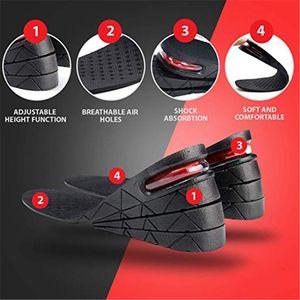 3-7.5cm Height Increase Insole Cushion Height Lift Adjustable Cut Shoe Heel Insert Taller Women Men Unisex Quality Foot Pads