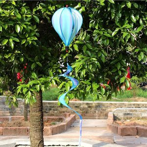 سبين مناطيد الهواء الساخن الرياح الشريط ساحة حديقة في الهواء الطلق ديكور
