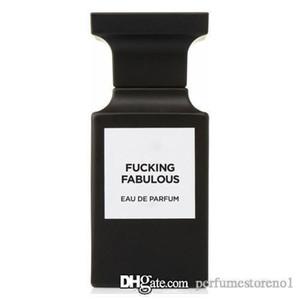 Neutral perfume Cojida Fabuloso cuero de vainilla de la almendra mate negro botella de perfume 100ml EDP elegante fragancia más alta calidad