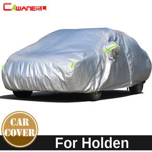 Cawanerl verdicken Cotton Car Cover Outdoor-Farbton-Schnee-Regen beständig wasserdichte Abdeckung für Holden Combo Commodore Cruze Epica