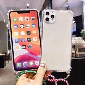Telefone Cadeia móvel caso protetor Mobile Phone caso Mobile Phone Colar Bag Strap Crossbody em Qualidade Premium para iPhone 11