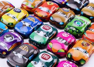 Tirare indietro Veicoli Mini macchina da corsa del giocattolo educativo prescolare per i bambini dei bambini del partito di favori di compleanno Premio Gioco